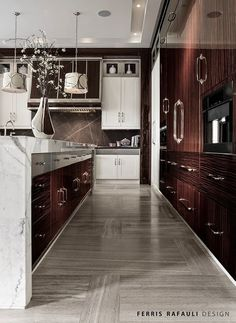 Contemporary kitchen style , modern and luxury Luxury Homes Interior, Home Interior Design, Classic Interior, Kitchen Furniture, Kitchen Interior, Cheap Furniture, Furniture Design, Beautiful Kitchens, Cool Kitchens