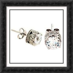 diamond earrings -  I WOULD DIE FOR THESE!