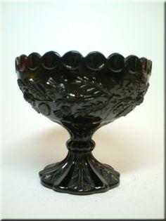 Milk Glass w / Color . Blenko Glass, Fenton Glass, Pyrex Display, Milk Glass Cake Stand, Black Amethyst, A Table, Table Lamps, Black Milk, Pendant Lamps