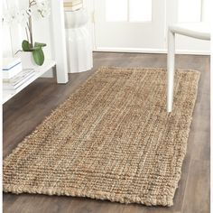 Buy Safavieh Natural Fiber Collection Hand Woven Natural Jute Runner, 2 feet 6 inches by 10 feet x Area Rugs – ✓ FREE DELIVERY possible on eligible purchase… Natural Fiber Rugs, Natural Area Rugs, Natural Rug, Natural Brown, Sisal Runner, Rug Runner, Carpet Runner, Braided Area Rugs, Shabby