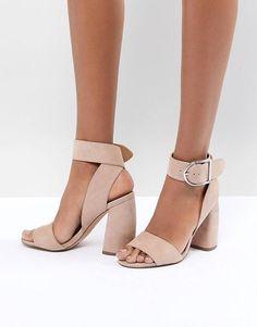 f78f1560765 ASOS DESIGN Helter Skelter Heeled Sandals Heels Outfits