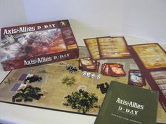 Axis & Allies D-Day Board Game Avalon Hill #AvalonHill