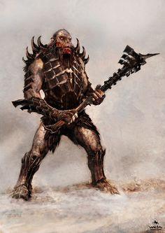 The Hobbit - Battle of Five Armies Hero Orcs, WETA WORKSHOP DESIGN STUDIO on ArtStation at https://www.artstation.com/artwork/JkyKZ