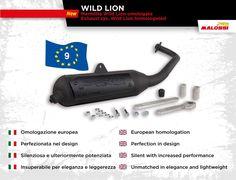 🆕 on Malossi Store ⭐︎Marmitte WILD LION omologate⭐︎  Potenti ma silenziose, perfezionate nel design e ora perfino omologate! Scopri i dettagli sul Malossi Store ➠ http://www.malossistore.it/marmitta-wild-lion-omologata-3217172-P