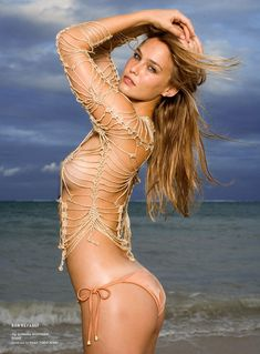 Raphael Mazzucco. Bar Refaeli, Sports Illustrated Swimsuit, 2008. [Pinned 6-iii-2016]