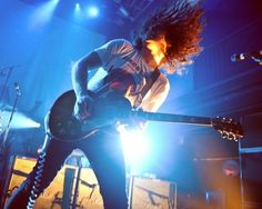 ray toro being majestic asf My Chemical Romance, Fall Out Boy Songs, Mcr Memes, Netflix Tv Shows, Ray Toro, Solo Music, Mikey Way, Fluffy Hair, Owl City