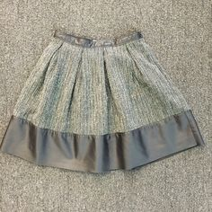 Paper Crown Tweed Skater Skirt Beautifully made skirt from Lauren's exclusive line! I am looking to clean out my closet, so please make me an offer, I am open to pretty much anything! Anthropologie Skirts Circle & Skater
