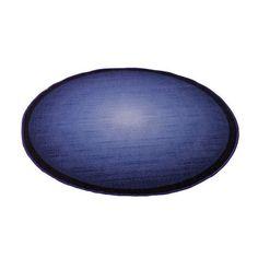 Pyöreä Sininen bukleematto - Tuppu-Kaluste