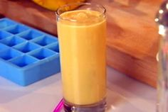 Mango Lassi - Cool, delicious, tropical and refreshing. I've made this a couple times now. I often get ripened mangoes at my supermarket reduced price for quick sale and always end up with all these extra ones about to go bad. This is a great way to use them up and it's absolutely delicious. I also add about a quarter cup of sugar to give it a little more sweetness. YUM.