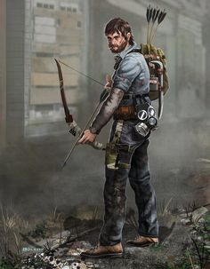 Zombie Apocalypse survivor: Alan by Mr-Donkeygoat.deviantart.com on @DeviantArt