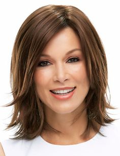 This Piecey Bob With A Sideswept Fringe Is Loaded With Layers. This Wig  Combines The Light Comfort And Natural Looking Hair Growth Appearance Of A  ...
