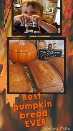 Best Pumpkin Bread Ever! -