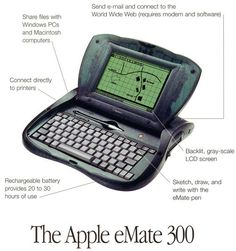 Apple eMate 300 - I loved this machine and regret I got rid of it