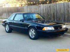 Car for Sale: 1992 Ford Mustang Lx Ford Mustang Shelby Cobra, Fox Body Mustang, Mustang For Sale, Ford Mustang Coupe, Chevrolet Trucks, Chevrolet Corvette, Ford Trucks, 1957 Chevrolet, Autos