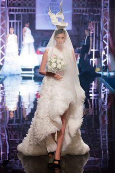 Designer Gauri and Nainika's Bridal Collection at BMW India Bridal Fashion Week 2014