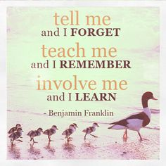 Amazon.com: Tell me and I forget. Teach me and I remember ...