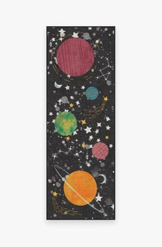 Space Watercolor, Space Painting, Outer Space Facts, Outer Space Bedroom, Outer Space Wallpaper, Space Drawings, Machine Washable Rugs, Space Theme, Space Party