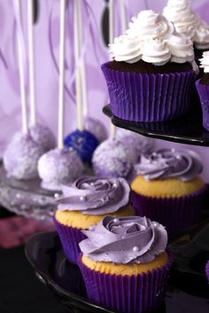 """Photo 1 of 31: Purple & Black ~ 'Sophisticated Tween' / Birthday """"Ruby's 13th Birthday"""" 