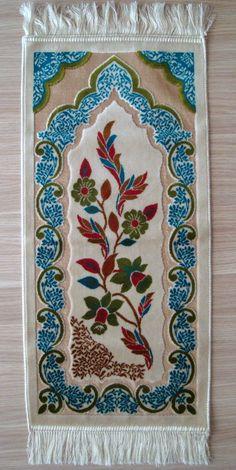 Kids Children Prayer mat, small islamic rug, islamic gift, luxury velvet kids