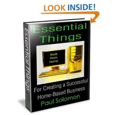 Essential Things For Creating A Successful Home-Based BusinessEssential Things For Creating A Successful Home-Based Business 17 things you need to know about Book Writer, Book 1, Christmas Books, Home Based Business, Solomon, Need To Know, New Books, Essentials, Success