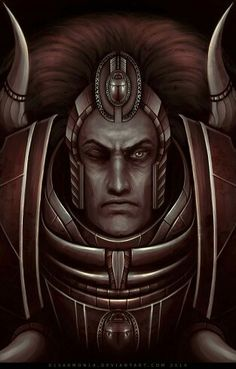 Magnus the Red primarch of the Thousand Sons