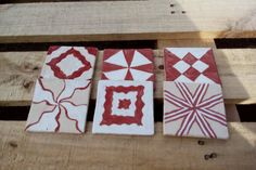 Geometric souver by Muddymood on Etsy