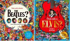 """.: Livros """"Onde está?"""" desafiam o público a encontrar Elvis Presley e a banda The Beatles  .: #LivrosOndeEstá #ElvisPresley #livro #livros #leitura #literatura #amoler #euamoler #amoliteratura #euamoliteratura #ElvisNãoMorreu #ElvisNaoMorreu #TheBeatles #OsBeatles #LosBeatles #Beatles #Resenhando #ResenhandoIndica #portalResenhando #Resenhando15anos"""