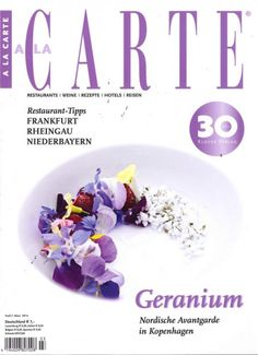"A la Carte 3/2014 ""Geranium"""