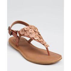 Lucky Brand Sandals - Filomena Flat found on Polyvore