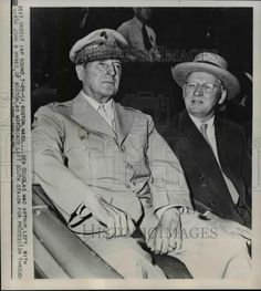 1951 Press Photo of General of the Army Douglas MacArthur. (L)