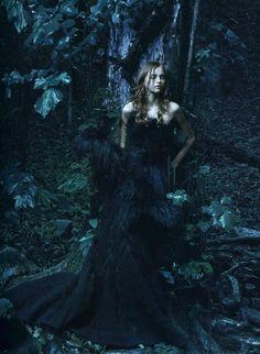 Anabela Belikova by Annie Leibovitz    Nina Ricci F/W 2007/08 Ad Campaign