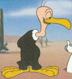 Beaky Buzzard meets Bugs Bunny