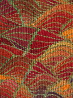 026- Blazing Bracken - Louise Oppenheimer Tapestry