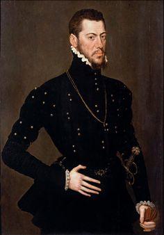 Martin de Gurrea y Aragón, duque de Villahermosa y conde de Ribagorza (Anthonis Mor; National Museum Sweden)