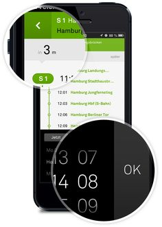 nextr app . public transportation guidance by Martin Oberhäuser, via Behance