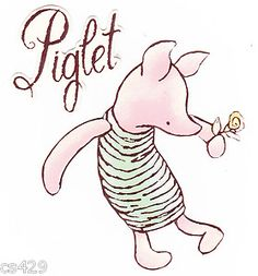 "I love the ""classic"" Piglet!"