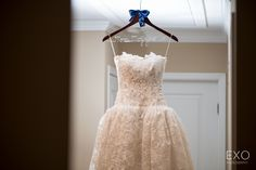 Very elegant detail on the Brides Dress