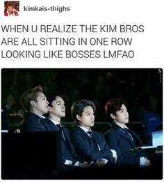 I love the Kim bros
