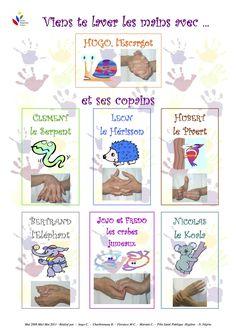 lavage de mains enfant - Recherche Google                                                                                                                                                                                 Plus Hippie Home Decor, Cute Home Decor, Tony Ross, Autism Education, Education Positive, Home Decor Pictures, Tatoo Art, Decorating Small Spaces, Learn French