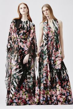 Gorgeous print dresses @eliesaab resort 2016!