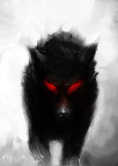 """""""Please...please snap out of it!"""" She pleaded, slowly continuing to back up. But the cold red eyes were relentless, the bared teeth snarling as the demon wolf continued to advance on her. """"Please don't make me hurt you..."""" (B6: Return of Darkness) ~Wendy Hamlet:"""