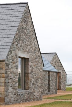Image 18 of 24 from gallery of House in Blacksod Bay / Tierney Haines Architects. Photograph by Stephen Tierney Farmhouse Architecture, Vernacular Architecture, Architecture Details, Gros Morne, Houses In Ireland, Contemporary Barn, Modern Barn, Country House Design, Stone Facade
