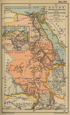 Egypt. I like old maps