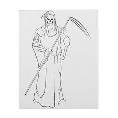 #Gevatter / #Godfather / #Grim #Platte 22,95 € pro #Platte  #Oktober #2013 #Halloween  von #Zazzle.de