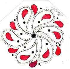 this is a doddle I did on the front of my journal Thank you for looking at my art....                        MaryRedford