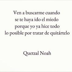 Quetzal Noah #amor