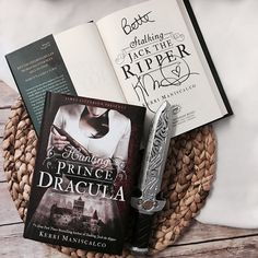 I just finished Stalking Jack the Ripper and whoa  Perfect spooky Halloween read! Im planning on picking up Hunting Prince Dracula tomorrow! -- -- -- -- #bookshelf #bookstagram #bookworm #booklover #bookphoto #bookclub #bookblogger #bibliophile #yafantasy #yafiction #bettereads #booknerd #bookish #bookaddict #bookhoarder #bookmark #readmore #bookishfeatures #bookishfeature #igreads #instaread #stalkingjacktheripper #huntingprincedracula #kerrimaniscalco