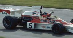 Fittipaldi 1974   Emerson Fittipaldi, com sua McLaren, no GP da Inglaterra de 1974 Getty ...