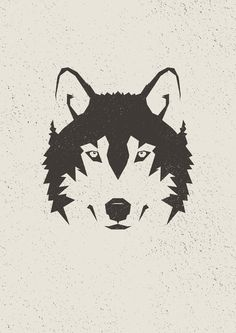 Wolf by MrPeruca on DeviantArt Stencil Lobo, Stencil Art, Wolf Stencil, Wolf Tattoos, Animal Tattoos, Fuchs Illustration, Desenho Pop Art, Ink Art, Cool Art