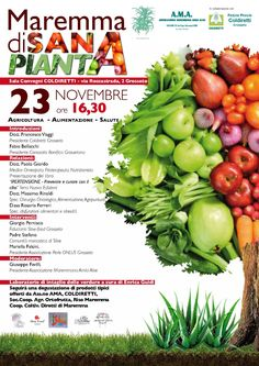 Bozza Locandina A3 - Maremma di sana pianta - C&P ADVER